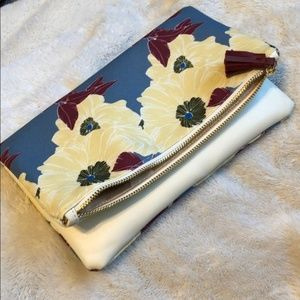 Rachel Pally - Reversible Floral Fold Clutch